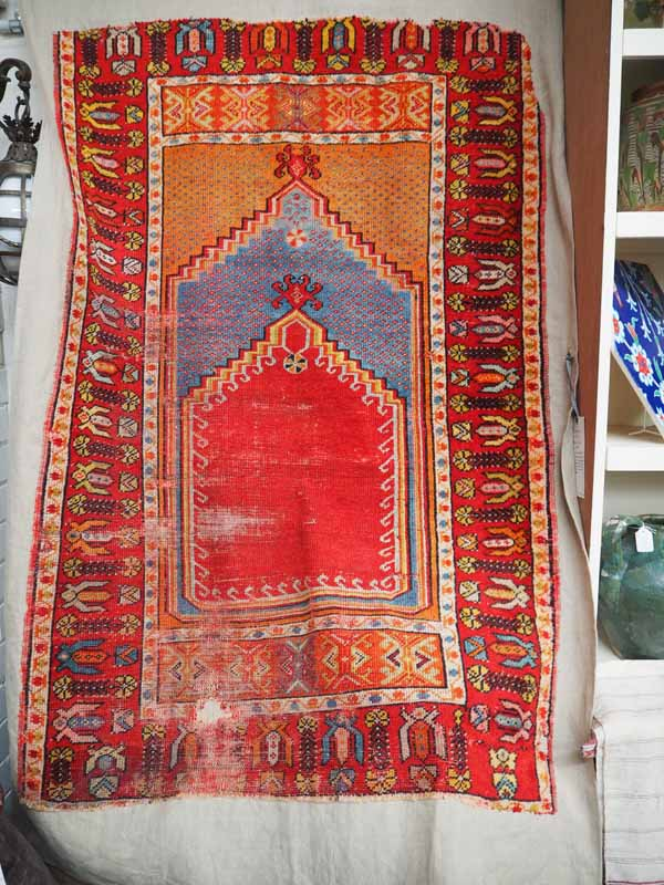 Fine Antique Kirsehir prayer rug