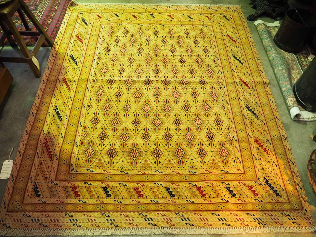 Hand knotted Soumac & Pile carpet from Herat - Mushwani -