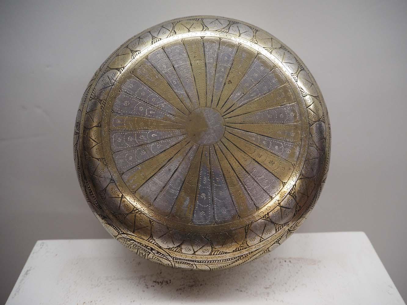 Ottoman Period Engraved Hamam bowl c.1900