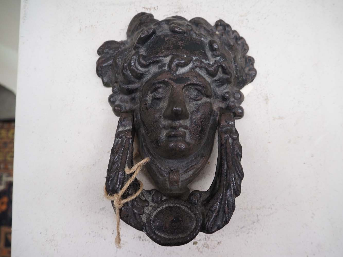 Cast iron antique door knocker homewares