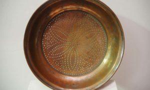 Antique Copper Sieve Ottoman empire