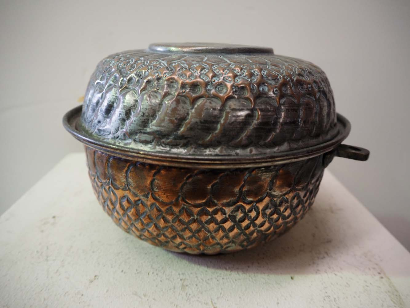 Antique Ottoman Period homeware lidded Pot