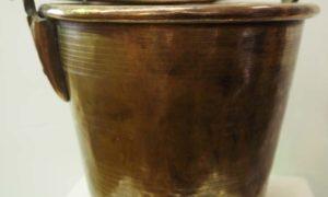 Turkish antique Homewares and Brass Bucket
