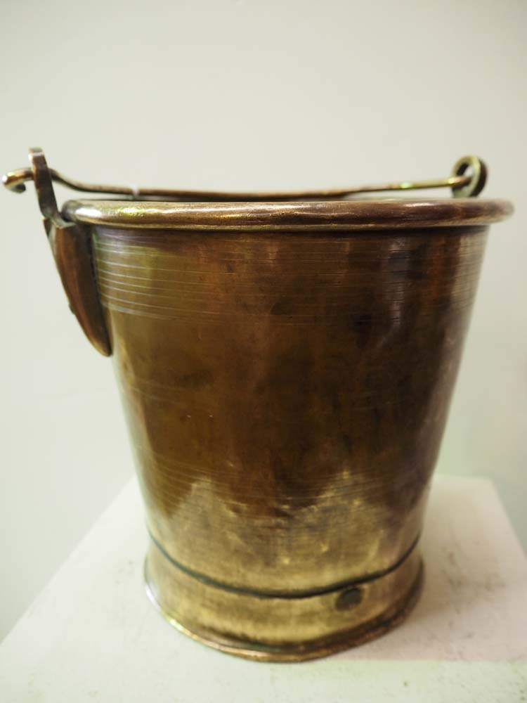 Turkish antique Homewares and Brass Bucket