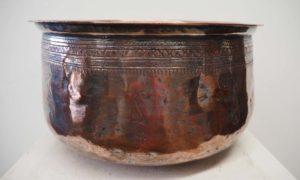 Turkish Ottoman Homewares metal Bowl Engraved
