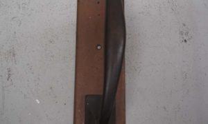 Antique French Art nouveau brass handle