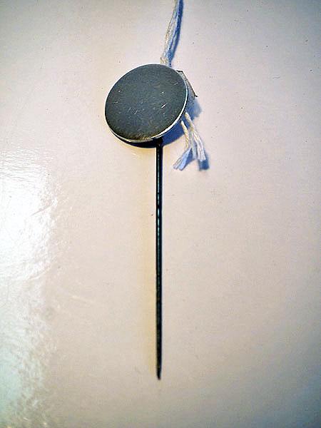 Sterling silver tie pin, Birmingham c.1903