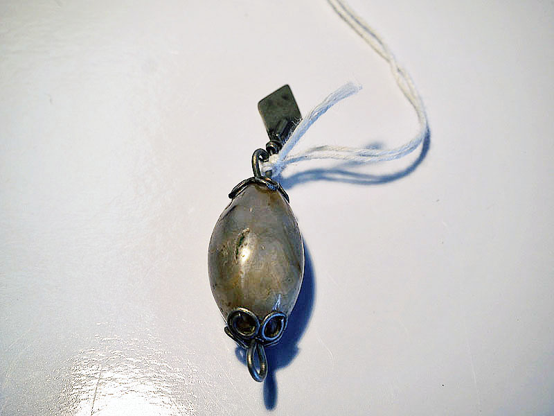 Turkoman silver pendant