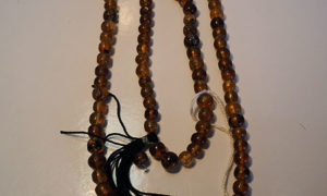 Burmese amber rosary Necklace