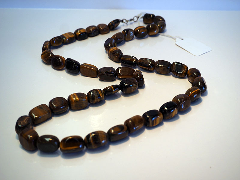 Turkish Tiger's Eye beaded Necklace