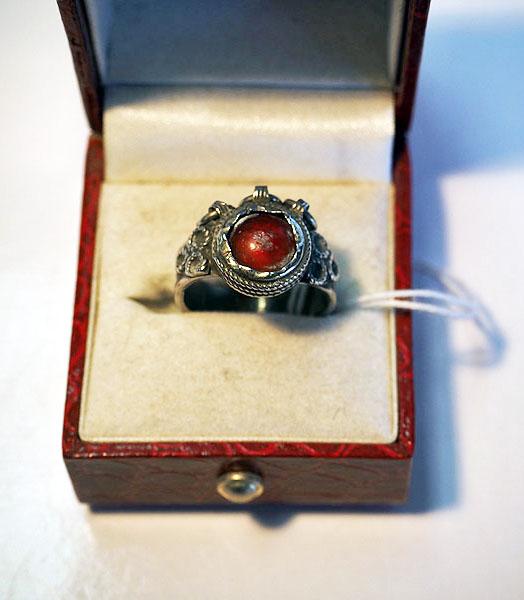 Turkoman Silver ring