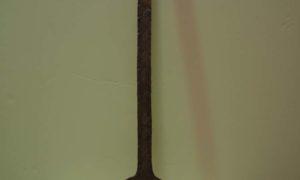 Antique Metal Work Homeware Olive Skimmer, Straining spoon