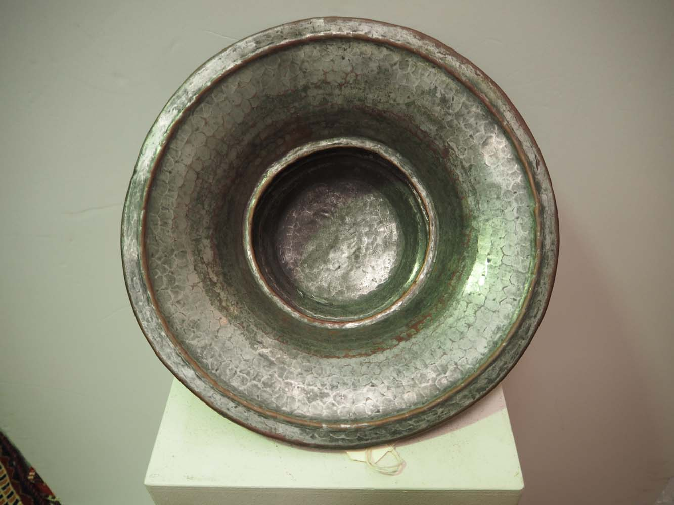 Ottoman period tinned copper bowl