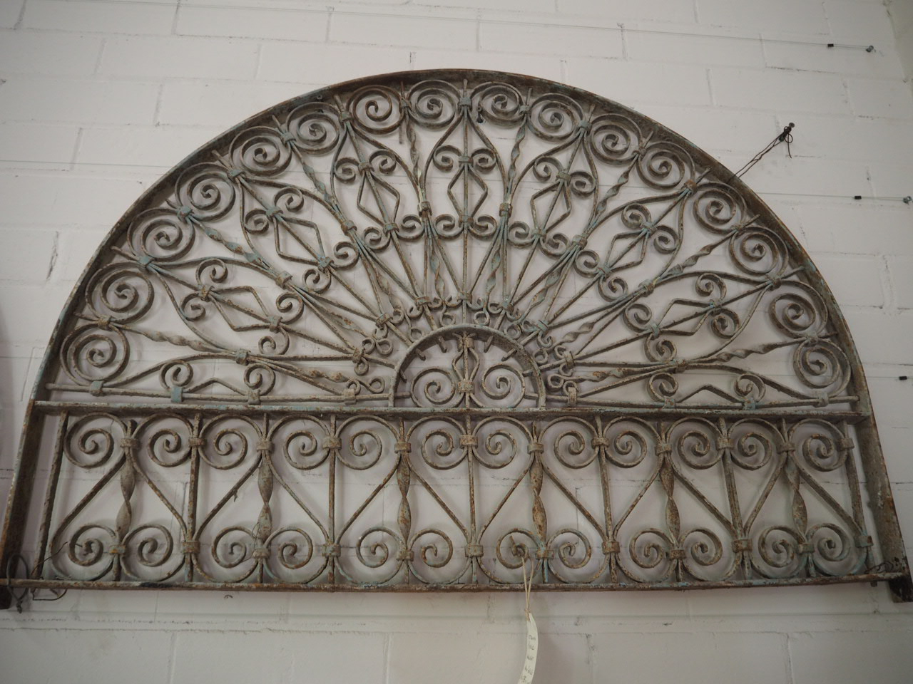 Antique Metal Work Ottoman Period wrought iron Grille