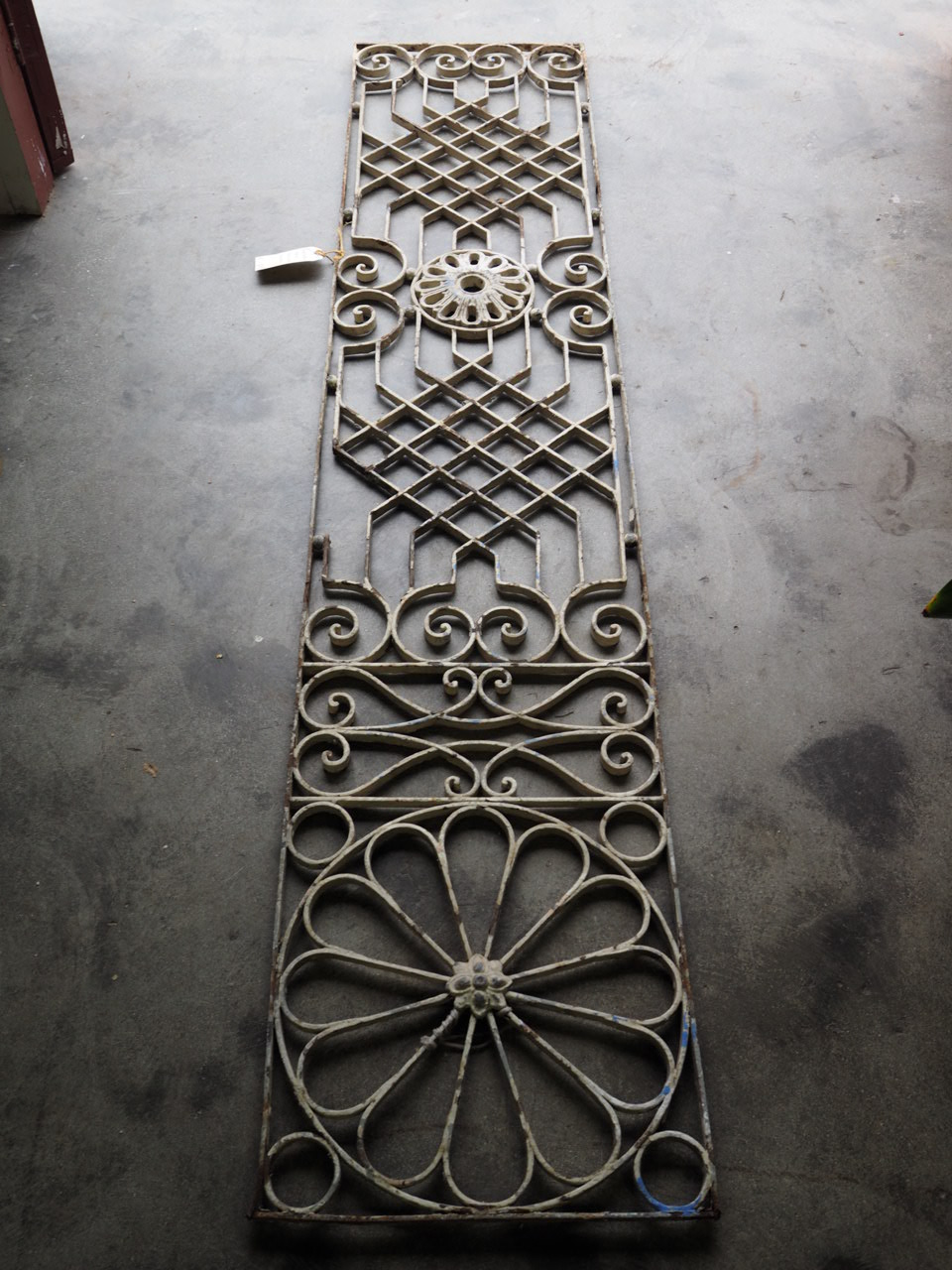Early 20th Century Ottoman grille, c.1900.