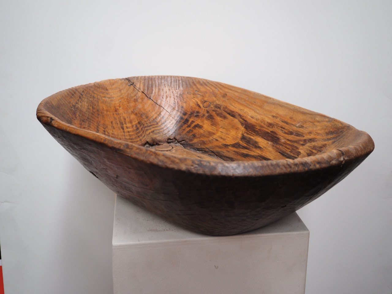 Ottoman period wooden food bowl
