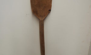 Antique Ottoman wooden shovel