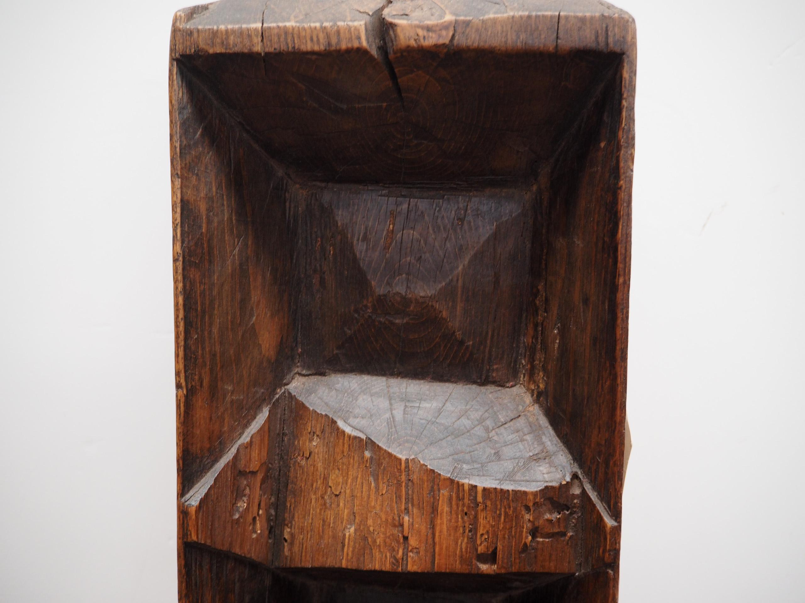 19th Century ottoman period wooden dough riser