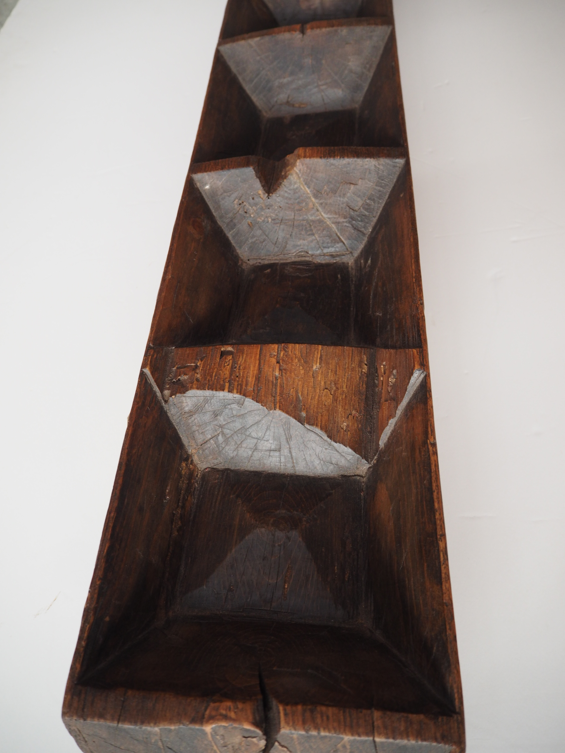 Antique 19th Century ottoman period wooden dough riser