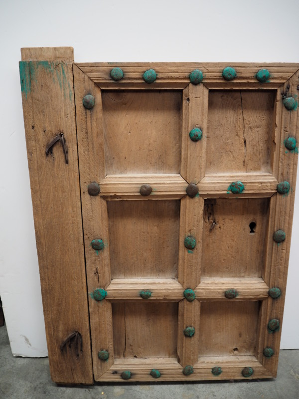 Antique Ottoman Period Armenian chestnut door, 18th Century