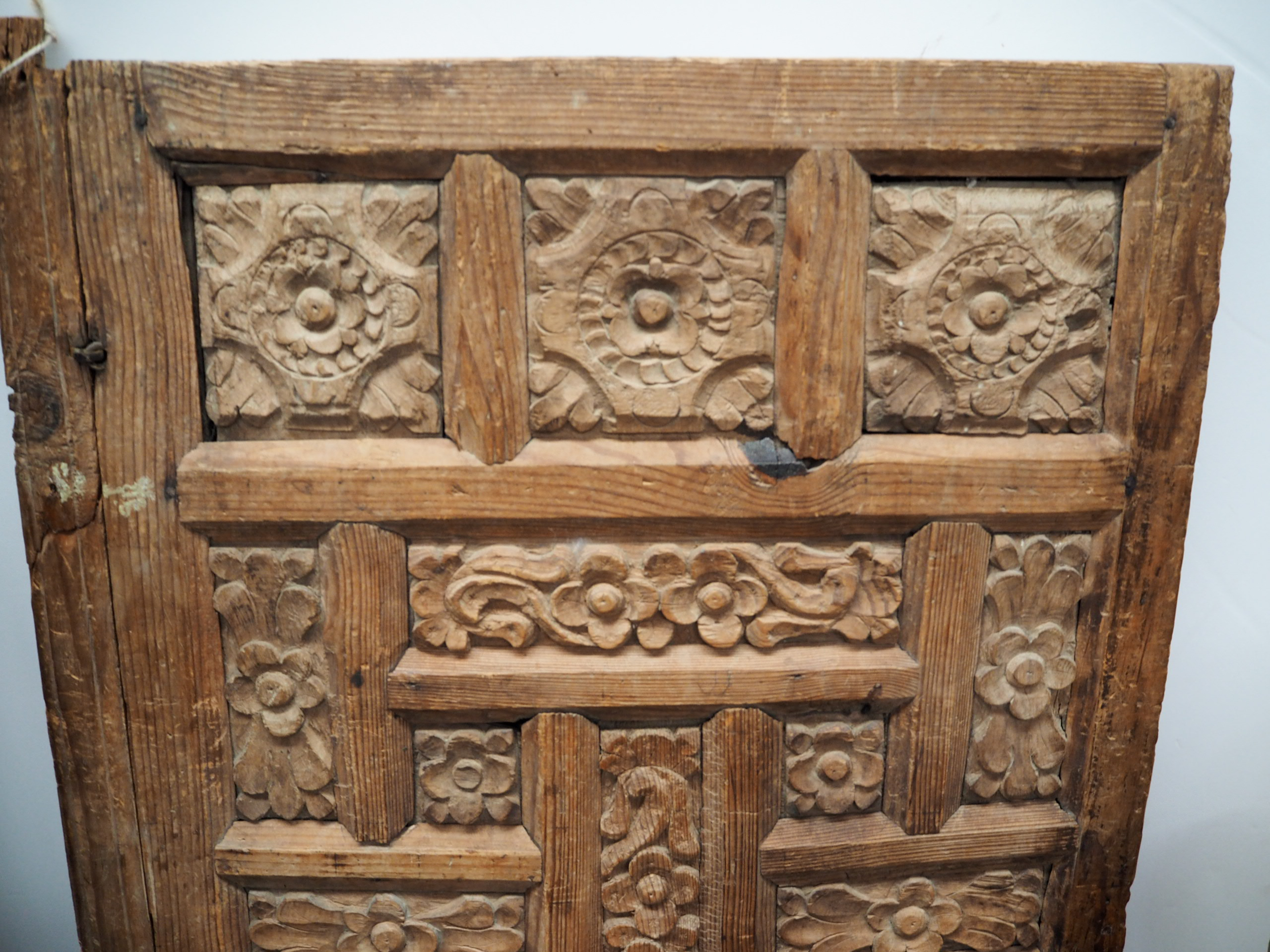 Antique Ottoman period carved door