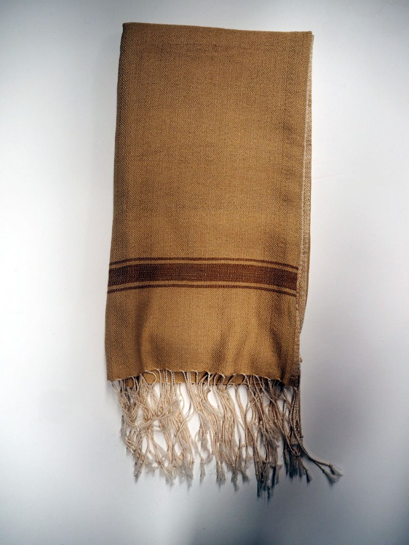 Hand loomed Syrian cotton scarf/Shawl