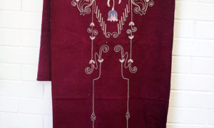 Early 20th century Syrian embroidered hanging