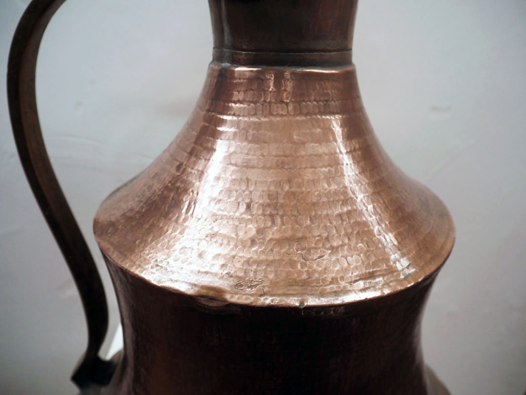 Ottoman period 19th century Armenian copper coffee pot