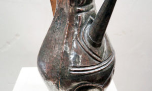 Ottoman period tinned copper, water pourer