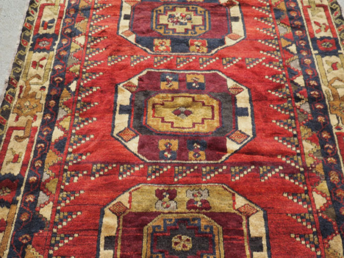 Hand made wool on wool Konya Karancu, approximately 70 years old