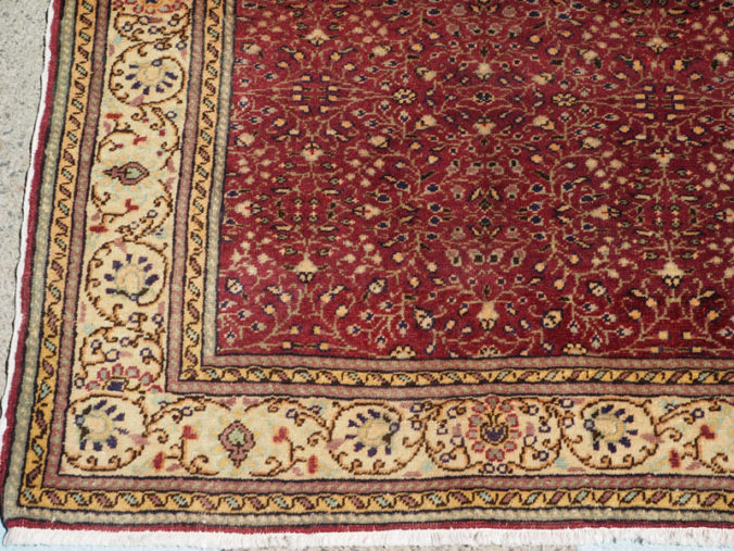 Double knotted hand made wool on cotton Turkish carpet from Kayseri, approximately 60 years old