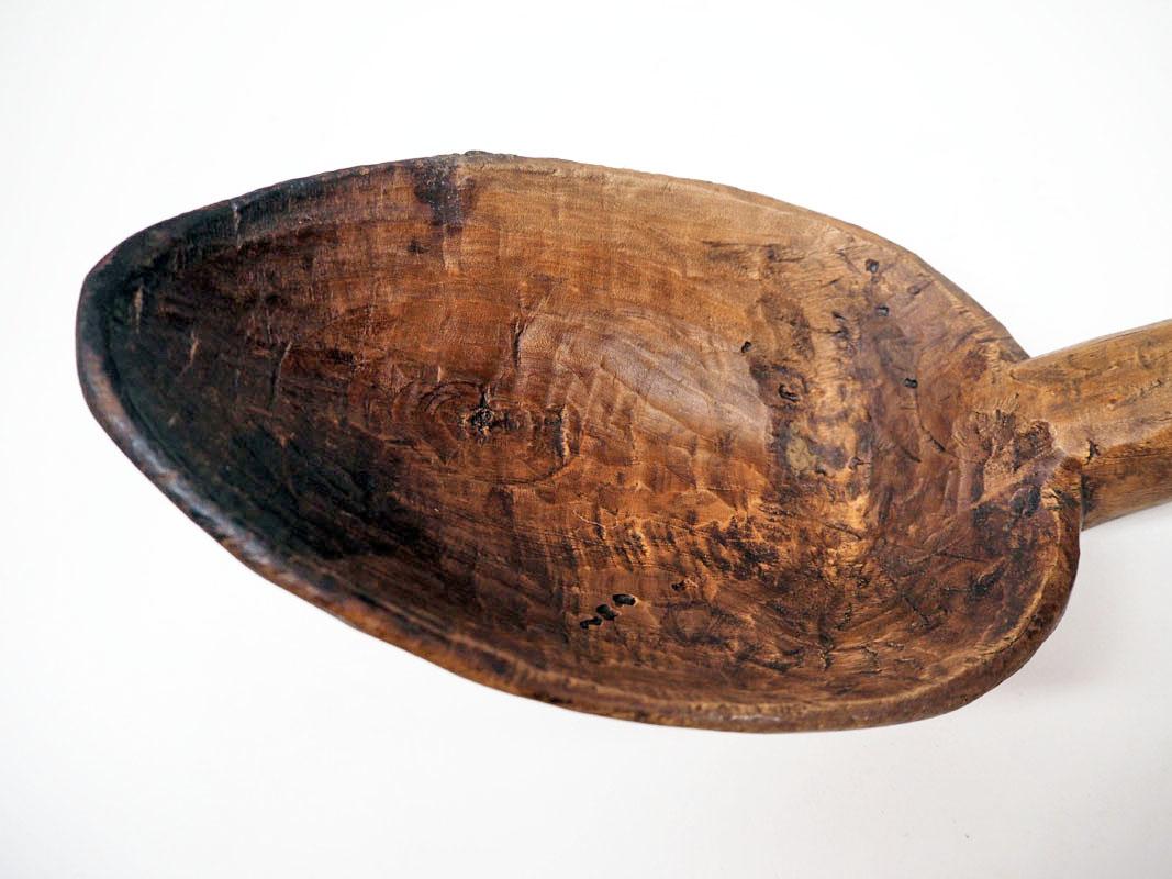 Ottoman period wooden spoon