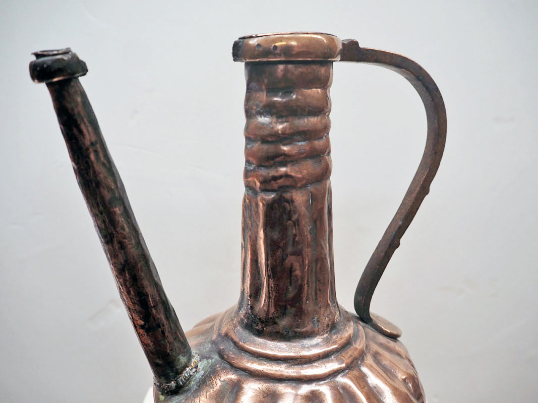 Ottoman period 19th century copper water pourer
