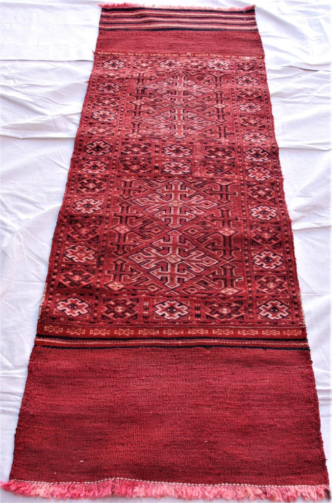 T790 North Persian Besic wool on wool weaving 1.92 x 0.65 $545.00