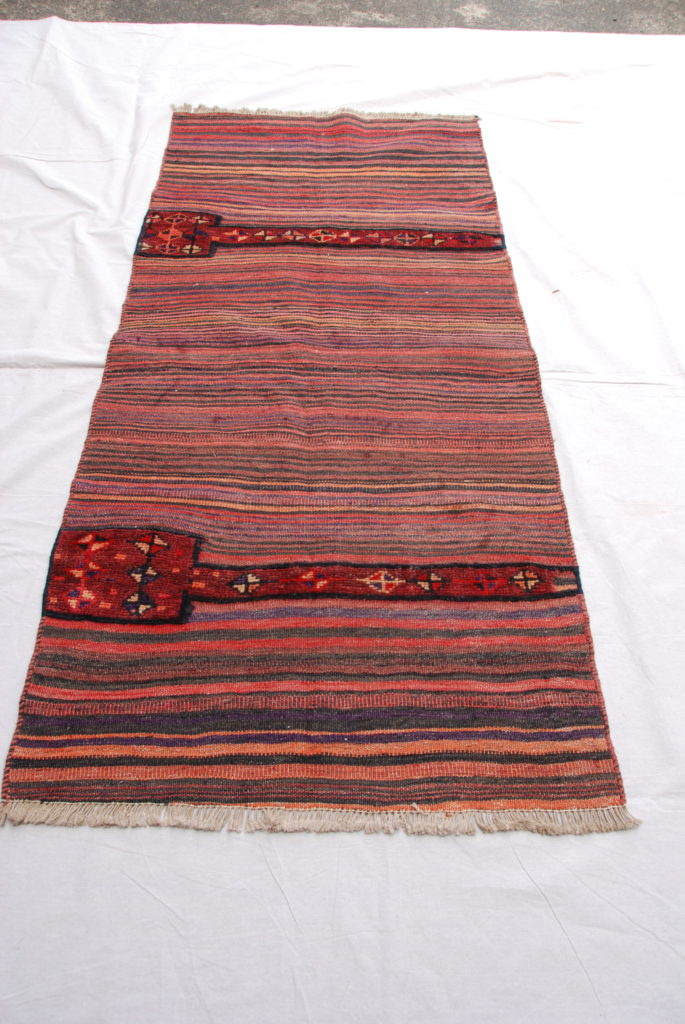 Hand woven & knotted carpet from Northern Iran, Bakhtiari 60-70 years old 2.03 x 0.91 $875.00