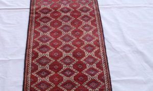 Timur Belouch wool on wool runner 60-70 years old 1.63 x 0.52 $695
