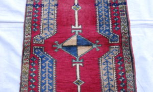 Turkish Kayseri carpet wool on cotton 40 years old 0.81 x 0.55 $295